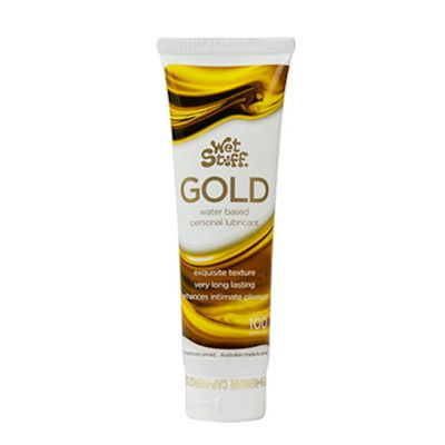 Wet Stuff Gold Waterbased Lubricant 100g Transparent 100g